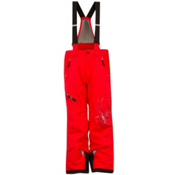 Spyder Avenger Kids Ski Pants, Red-Black, medium