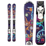 Nordica Cinnamon Kids Skis with Fastrak 4.5 Bindings 2013, , medium