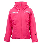 Spyder Knockout Girls Ski Jacket, Diva Pink-Diva Pink Speedlines, medium
