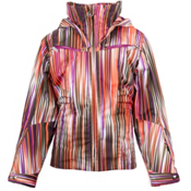 Spyder Knockout Girls Ski Jacket, Sunrise Speedlines-Gypsy, medium