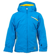 Spyder Mynx Girls Ski Jacket, Coast-Taxi, medium