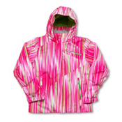 Spyder Mynx Girls Ski Jacket, Diva Pink Speedlines-Green, medium