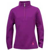 Spyder Valor Half-Zip Girls Sweater, Gypsy, medium