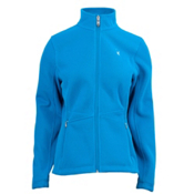 Spyder Full Zip Plush Womens Sweater, Coast-Coast, medium