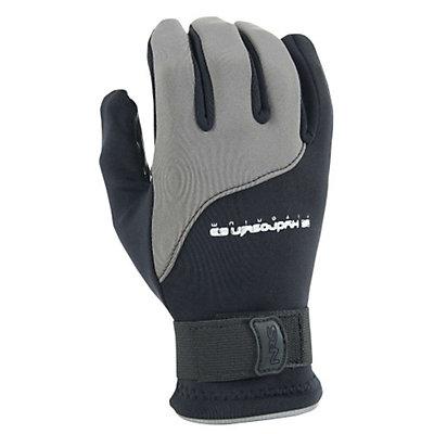 NRS Hydroskin Paddling Gloves, Black-Grey, viewer