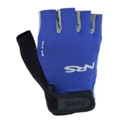 NRS Boaters Paddling Gloves, Blue-Black, medium