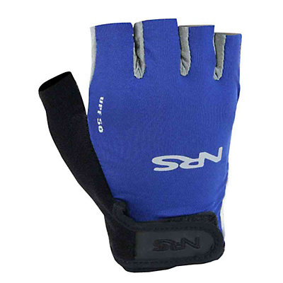 NRS Boaters Paddling Gloves, Blue-Black, viewer