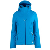 Spyder Power Womens Insulated Ski Jacket, Coast-Blue My Mind, medium