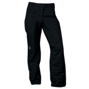Spyder Winner Tailored Fit Womens Ski Pants, Black, medium