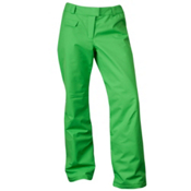 Spyder Winner Tailored Fit Womens Ski Pants, Classic Green, medium