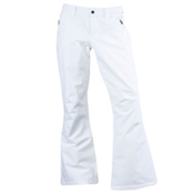 Spyder The Traveler Athletic Fit Short Womens Ski Pants, White, medium