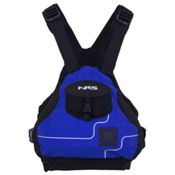 NRS Ninja PFD Adult Kayak Life Jacket 2014, Blue, medium