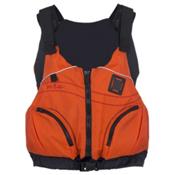 NRS Zoya PFD Womens Kayak Life Jacket, Orange, medium