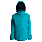 Orage Daphey Girls Ski Jacket, Teal, medium