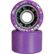 Backspin Backspin Grape-Ade Roller Skate Wheels - 8 Pack, , medium