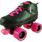 RC Mr Pink Girls Derby Roller Skates, , medium