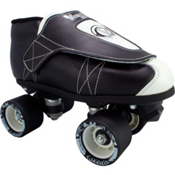 Vanilla Tuxedo Junior Boys Derby Roller Skates, , medium