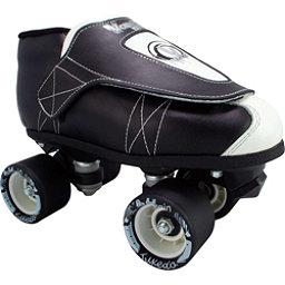 Vanilla Tuxedo Junior Boys Derby Roller Skates, , 256