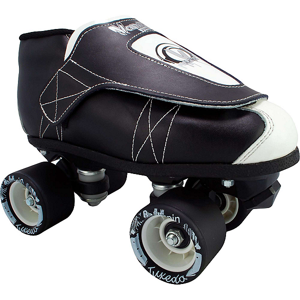 Vanilla Tuxedo Junior Boys Derby Roller Skates, , 600