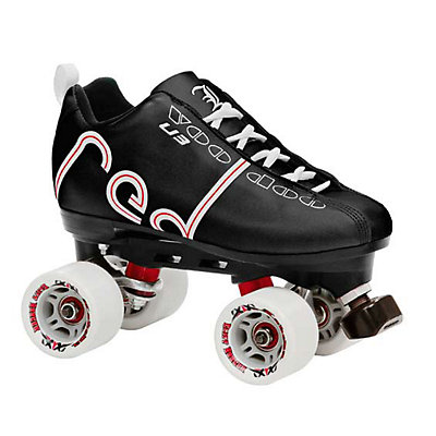 Labeda Voodoo Derby Roller Skates, Black, large
