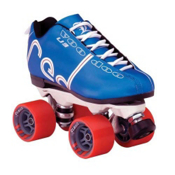 Labeda Voodoo Derby Roller Skates, Blue, medium