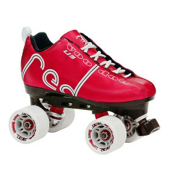 Labeda Voodoo Derby Roller Skates, Red, medium