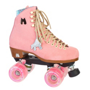 Riedell Moxi Lolly Strawberry Womens Outdoor Roller Skates 2013, Pink, medium