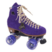 Riedell Moxi Lolly Taffy Womens Outdoor Roller Skates 2013, Purple, medium
