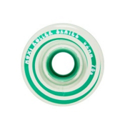 Riedell Moxi Gummy Wheels Roller Skate Wheels - 4 Pack 2016, Seafoam, medium