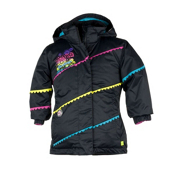 Obermeyer Zen Toddler Girls Ski Jacket, Black, medium