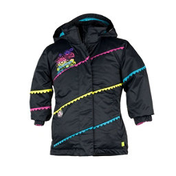 Obermeyer Zen Toddler Girls Ski Jacket, Black, 256
