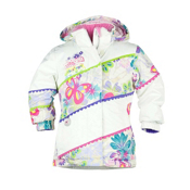 Obermeyer Zen Toddler Girls Ski Jacket, Marshmallow, medium
