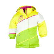 Obermeyer Zen Toddler Girls Ski Jacket, Sun, medium