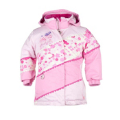 Obermeyer Zen Toddler Girls Ski Jacket, Cotton Candy, medium