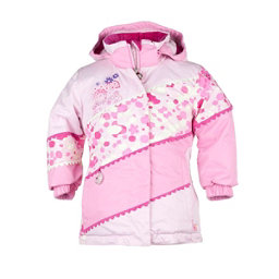 Obermeyer Zen Toddler Girls Ski Jacket, Cotton Candy, 256
