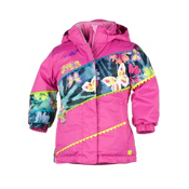 Obermeyer Zen Toddler Girls Ski Jacket, China Pink, medium