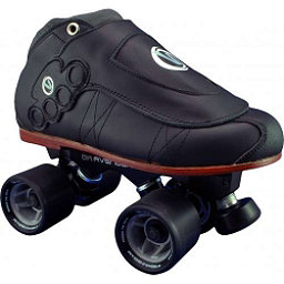 Vanilla Brass Knuckle Blackout Avenger Derby Roller Skates, , 256