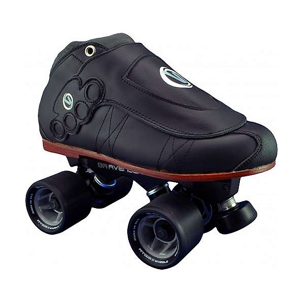 Vanilla Brass Knuckle Blackout Avenger Derby Roller Skates, , 600