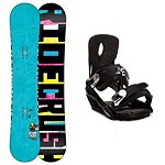 Ride Crush Snowboard and Binding Package