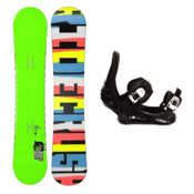 Ride Crush Wide Snowboard and Binding Package, , medium