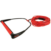 Straight Line STR-5 with Dyneema Wakeboard Rope 2015, Red, medium