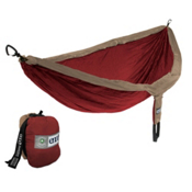 ENO Double Nest with Insect Shield Hammock 2016, Khaki-Maroon, medium