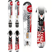 Rossignol PMC Pro Kids Skis with Comp Kid 25J Black White Bindings 2013, , medium