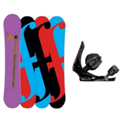 Forum Holy Moly Snowboard and Binding Package, 158cm, medium