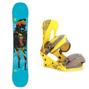 Forum Youngblood GrandPops Snowboard and Binding Package, 152cm, medium