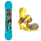 Forum Youngblood GrandPops Snowboard and Binding Package, 156cm, medium