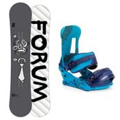 Forum Manual Snowboard and Binding Package 2013, 147cm, medium