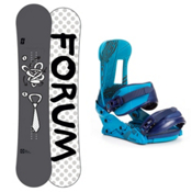 Forum Manual Snowboard and Binding Package 2013, 150cm, medium