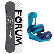 Forum Manual Snowboard and Binding Package 2013, 153cm, medium
