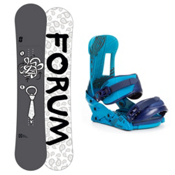 Forum Manual Snowboard and Binding Package 2013, 156cm, medium